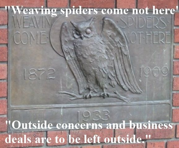 Weaving Spiders