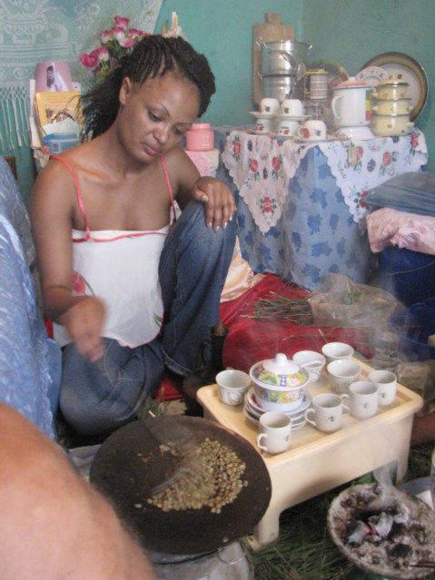 Coffee Ceremony of Ethiopia