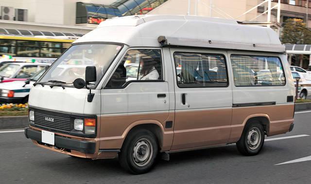 Toyota convert van