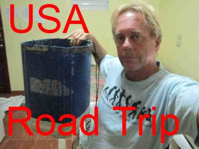 USA shower road trip