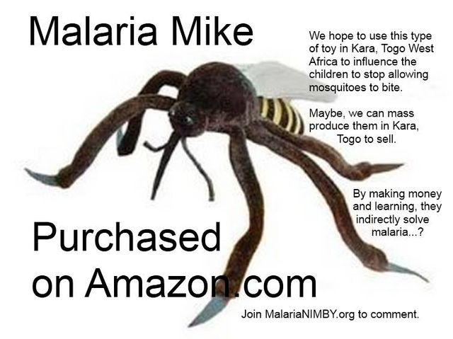 Malaria Mosquito Toy