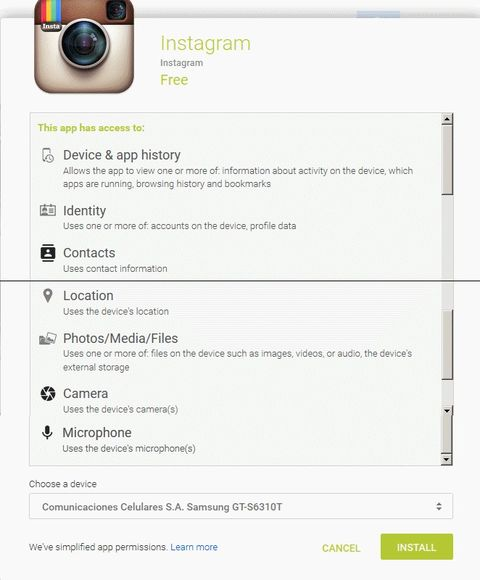 Instagram Is There Any Data You Do Not Want?