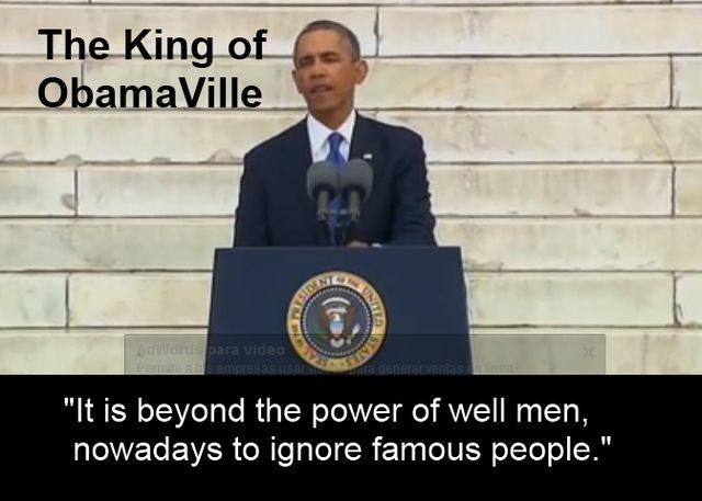 Obama Ville is The Americans of Way Riding Coattails of Mediocrity.