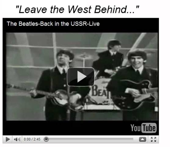 Beatles Back in the USSR