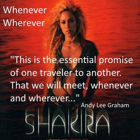 whenever wherever by shakira