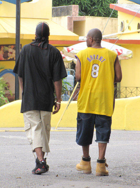 typical Tourist in Dominican Republic
