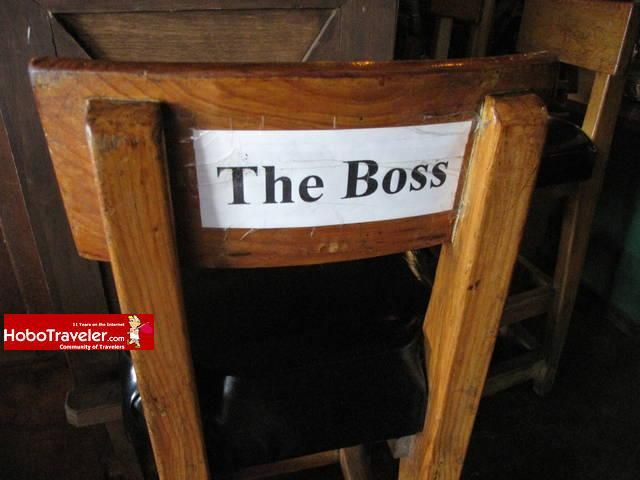 The boss title=