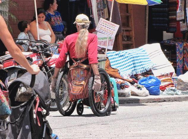 Wheelchair pana