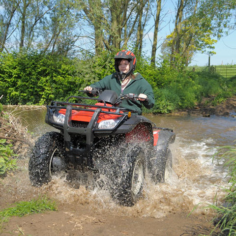 All Terrain Vehicle is the ideal vehicle for traveling on difficult areas