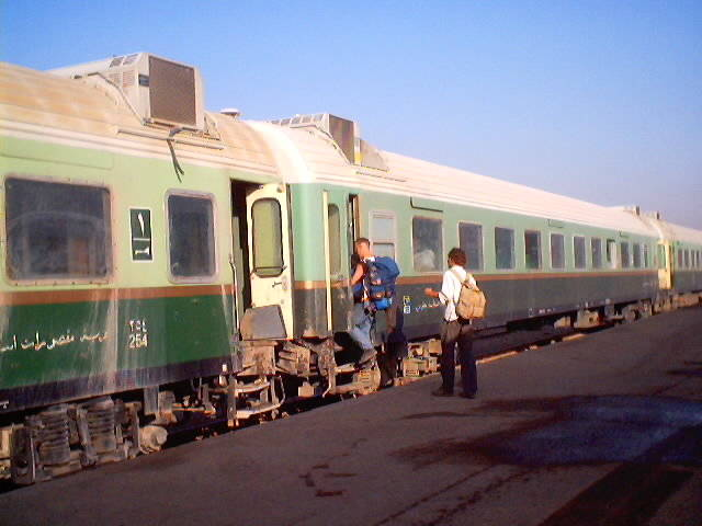 entering a diesel multiple unit