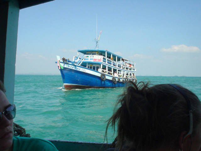 View of the Koh Samet ferry.