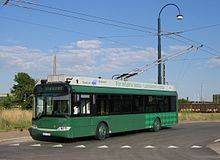 Green Trolleybus title=