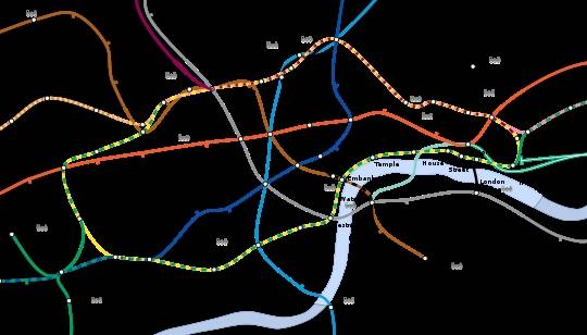 List/ Map of London underground stations title=