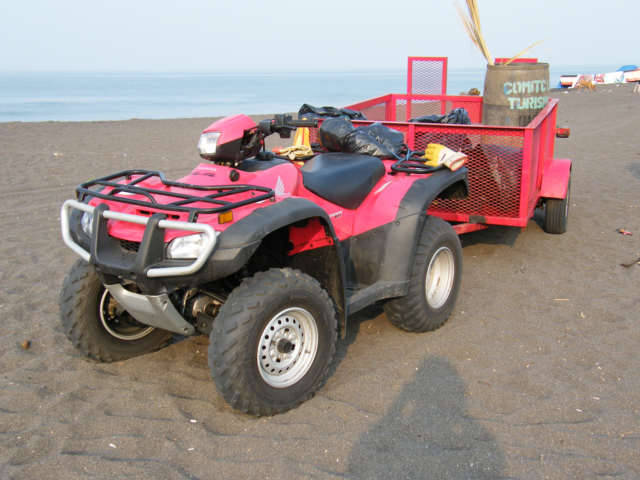 Pink working dune buggy title=