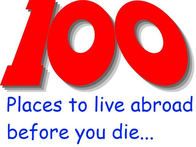 100 Places to live before you die