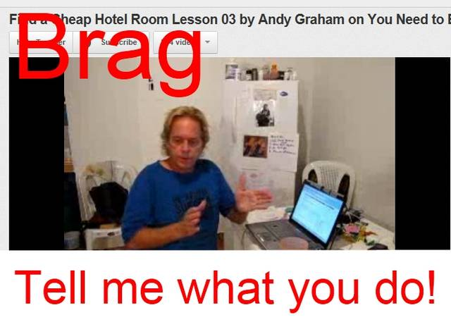 Find a Cheap Hotel Room Lesson 03 by Andy Graham on Video Need to Brag About 10 Dollar per Night
