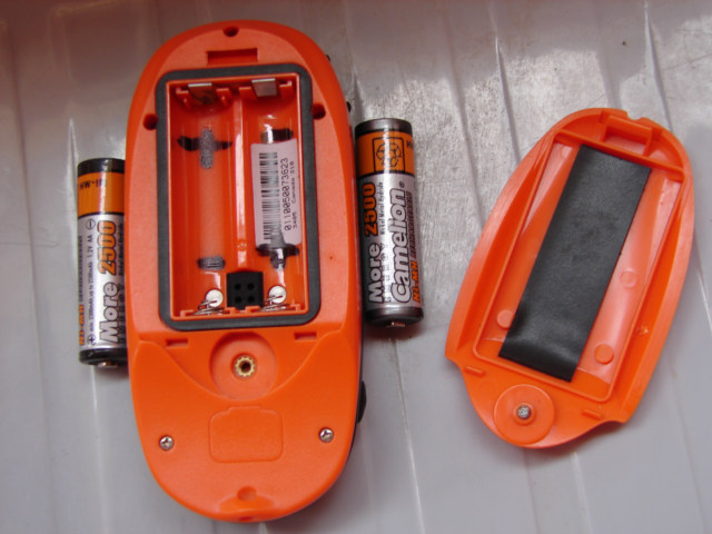 Marked Battery Direction