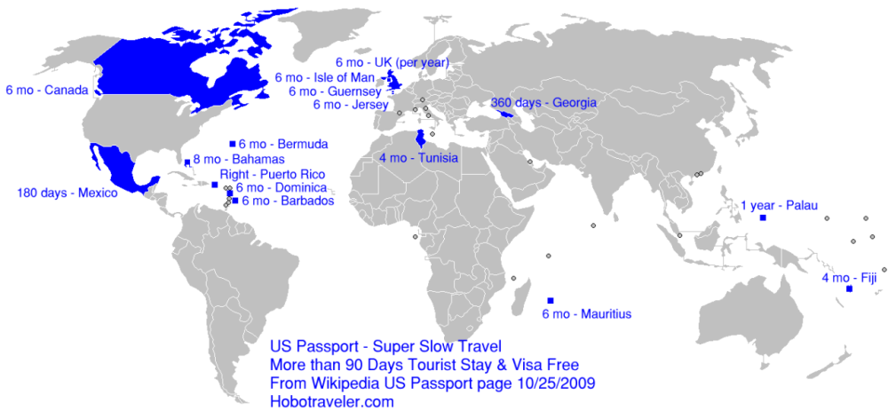 Wayfinding Maps Live Abroad - Bermuda map usa