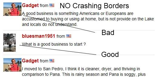 Crashing Borders