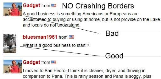 Crashing Borders