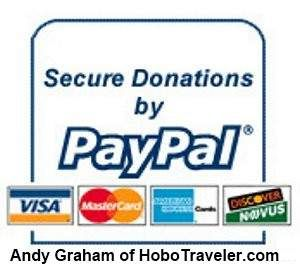 Paypal Donate to Andy Graham button