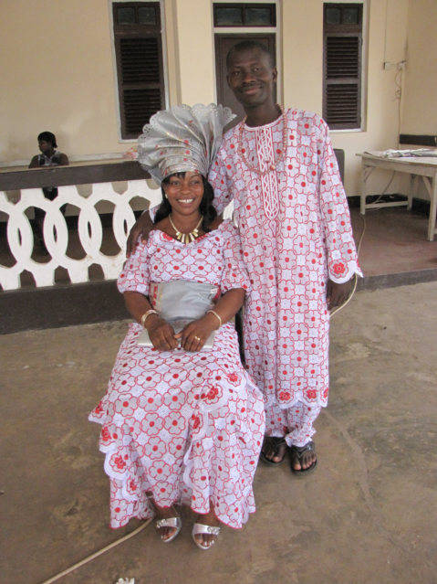The Ghana Wedding Couple