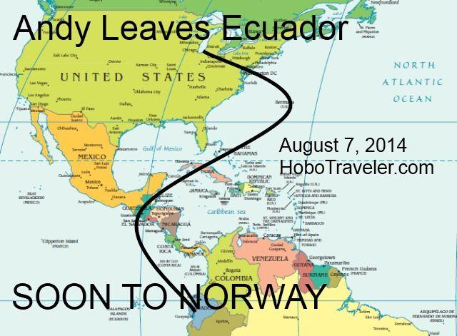 Ecuador to Orland Indiana