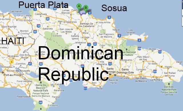 Sosua Puerta Plata Map