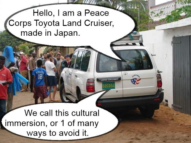 Peace Corps Toyota Land Cruiser