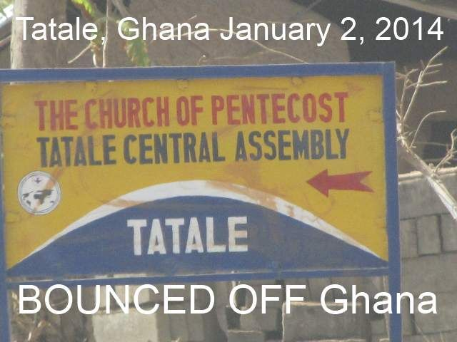 Entered Tatale, Ghana and decided to turn around and go back to Kara, Togo. title=