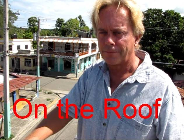 Travel Blog by Andy Graham on Roof of Hotel in Dominican Republic. title=