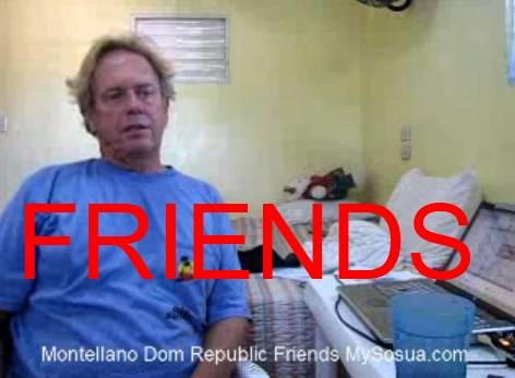 Video Travelogue by Andy Graham, I am Happy Because Friends in Montellano Dominican Republic are Everywhere.