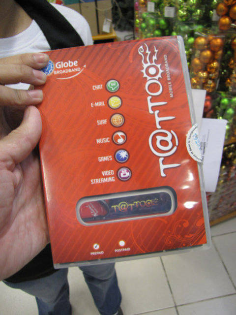 USB Wireless Modems Tattoo in Philippines