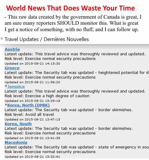 World News Briefs